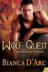 Wolf Quest (Lords of the Were Universe, #13; Brotherhood of Blood, #7)