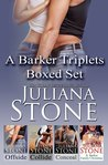 The Barker Triplets Boxed Set (The Barker Triplets, #1-3)