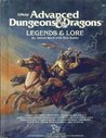 Legends and Lore: Cyclopedia of Gods and Heroes from Myth and Legend (Advanced Dungeons & Dragons 1st Edition)