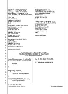 Bill Lann Lee – CA State Bar No. 108452 GENOVESE JOBLOVE
