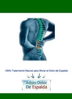Adiós Dolor De Espalda™ PDF, Libro por Ulises Rossi