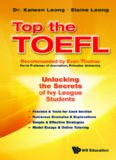 Top the TOEFL : Unlocking the Secrets of Ivy League Students