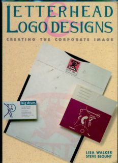Letterhead and Logo Designs: v. 1: Creating the Corporate Image