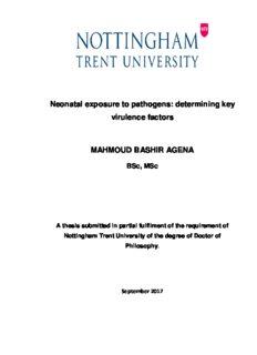 determining key virulence factors MAHMOUD BASHIR AGENA