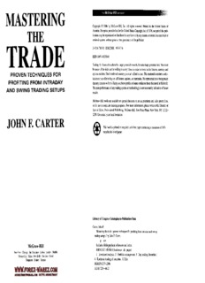 John Carter - Mastering The Trade (Another Version).pdf