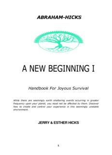Esther Hicks A NEW BEGINNING 1.pdf