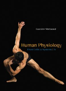 Human physiology. From cells to systems