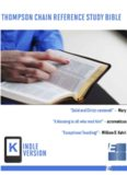 Thompson Chain Reference Study Bible (Kindle Edition) (EPUB)
