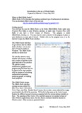 Introduction to the use of SMath Studio Prepared by Gilberto E. Urroz, May 2010 Where to find ...