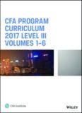 CFA program curriculum 2017 Level III. volumes 1-6.