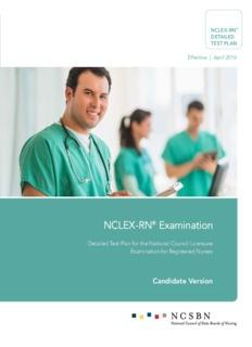 NCLEX-RN® Examination NCLEX-RN® Examination