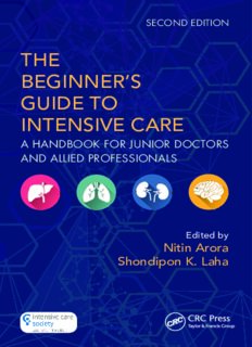 The Beginner's Guide to Intensive Care : a Handbook for Junior Doctors and Allied Professionals