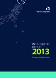 INTEGRATED 2013REPORT - Adcock Ingram