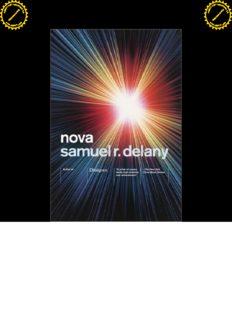 Delany, Samuel R - Nova