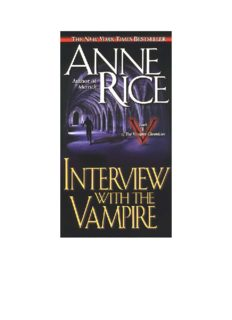 Anne Rice - The Vampire Chronicles (Books 1-10)