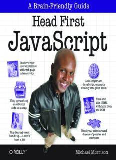 [O`Reilly. Head First] - JavaScript - [Morrison].pdf