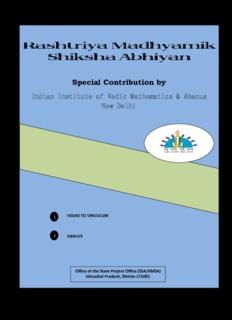 Abacus & Vedic Mathematics