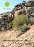 2013 Chesser Resources Ltd Annual Report
