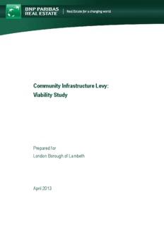 Lambeth CIL Viability Study - Lambeth Council