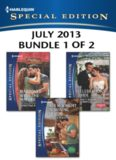 Harlequin Special Edition July 2013 - Bundle 1 of 2: Marooned with the Maverick\Her McKnight in Shining Armor\Celebration's Bride