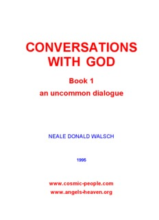 conversations with god, book 1