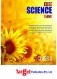 CBSE Class 10, Science, Term