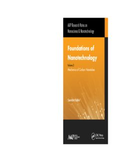Foundations of Nanotechnology - Three Volume Set: Foundations of Nanotechnology, Volume Three: Mechanics of Carbon Nanotubes
