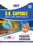 to Download G.K Capsule for IBPS Clerk Mains Exam 2018-19