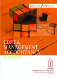 COST AND MANAGEMENT ACCOUNTANCY INTERMEDIATE