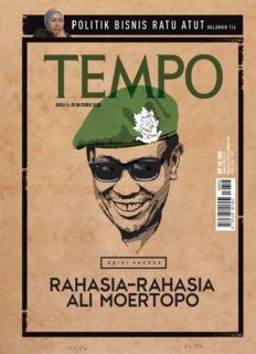Majalah Berita Mingguan TEMPO - Biar sejarah yang bicara