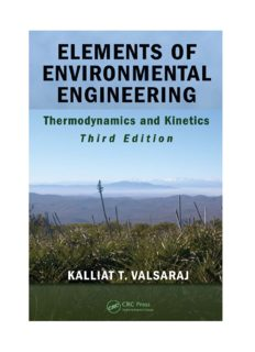 Elements of Environmental Engineering: Thermodynamics and Kinetics, Third Edition