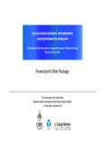Powerpoint Slide Package - JCVI Blog - J. Craig Venter Institute