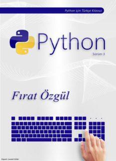 Python 3 için Türkçe Kılavuz