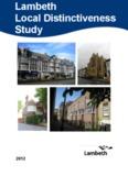 Lambeth Local Distinctiveness Study - Lambeth Council