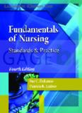 Fundamentals of Nursing Standards & Practice Fourth Edition