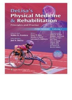 DeLisa's Physical Medicine and Rehabilitation