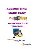ACCOUNTING MADE EASY - TurboCASH Accounting