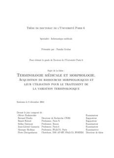 Terminologie médicale et morphologie. - Natalia Grabar