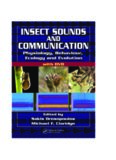 Insect Sounds and Communication: Physiology, Behaviour, Ecology, and Evolution (Contemporary Topics in Entomology)