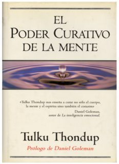 Tulku Thondup El poder curativo de la mente