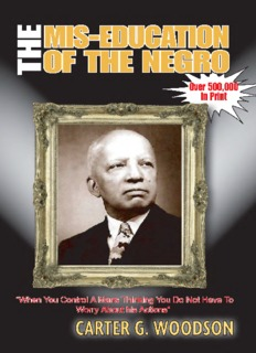 Mis-Education of the Negro