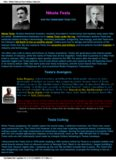 Altair - Nikola Tesla and How to Make a Tesla Coil