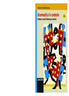 Grammatica in contesto. Strutture e temi di italiano per stranieri con soluzioni