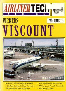 Vickers Viscount (Airliner Tech Vol. 11)