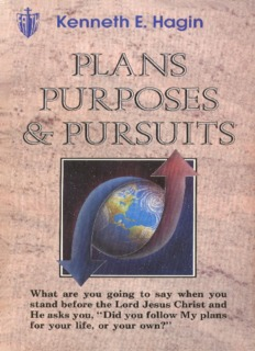 Plans, Purposes, Pursuits