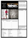 Monthly Consultant Planner - Shani's Office