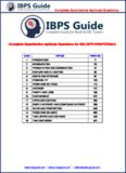 Complete Quantitative Aptitude Questions Complete Quantitative Aptitude Questions for SBI,IBPS ...