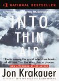 Into Thin Air: A Personal Account of the Mount Everest Diaster