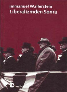 Liberalizmden Sonra - Immanuel Wallerstein