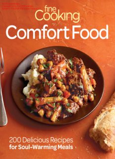 Fine Cooking Comfort Food  200 Delicious Recipes for Soul-Warming Meals